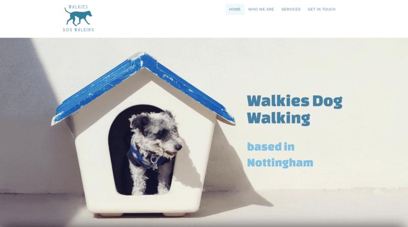 dog walker website